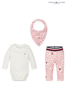 Tommy Hilfiger Pink Baby Heart Gift Pack