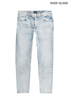 River Island Blue Light Slim Salah Jeans