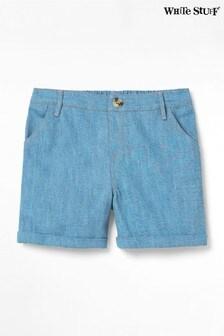 White Stuff Blue Denim Shorts