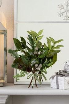 Green Mini Foliage Decoration