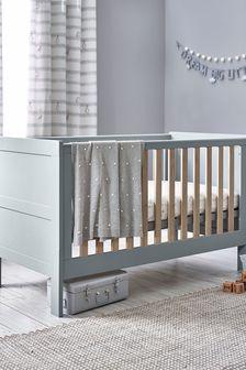 Greyson Grey Cot Bed
