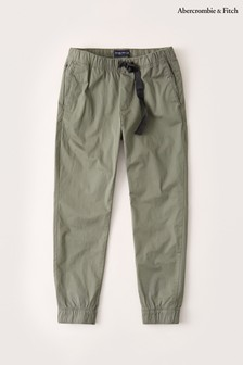 Abercrombie & Fitch Green Utility Joggers