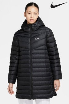 Легкая дутая парка Nike Windrunner