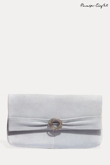 Phase Eight Green Joelle Clutch Bag