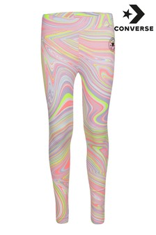 Converse Youth Marble All Over Print Leggings