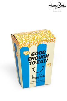 Happy Socks Popcorn Two Pack Gift Box