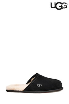 UGG® Black Scuffette Slippers