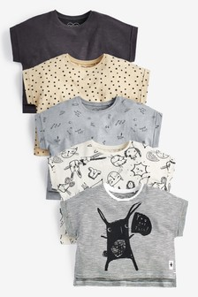 5 Pack T-Shirts (3mths-7yrs)