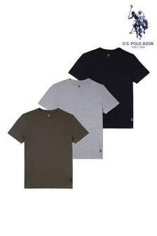 U.S. Polo Assn. Green T-Shirts 3 Pack