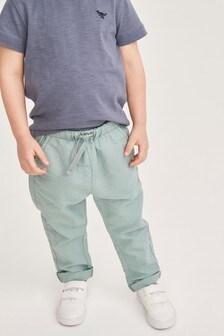 リネン混パンツ (3 か月~7 歳)