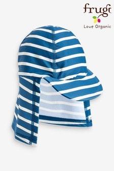 Frugi Oeko Tex Blue Stripe Legionnaire Style Hat