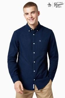 Original Penguin® Blue Cotton Oxford Shirt