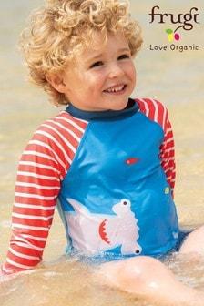 Frugi Oeko Tex UPF 50+ Shark Print Rash Vest