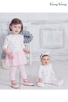Kissy Kissy Pink Perfect Pirouette Dress Set