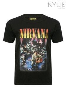 Kylie Black Nirvana T-Shirt
