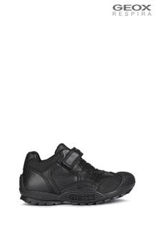 Geox Junior Boy's R Savage Black Shoes