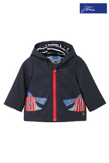 Joules Blue Cloud Shark Raincoat