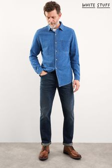 White Stuff Blue Harwood Straight Jeans