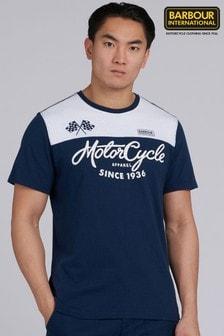 Barbour® International Motorcycle Panel T-Shirt