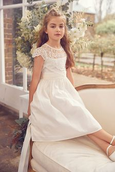 Lace Bodice Dress (3-16yrs)