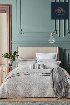Bedeck Of Belfast Silver Sezan Oxford Pillowcase