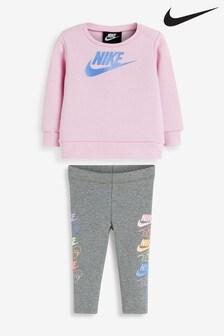 Nike Infant Futura Crew And Legging Set