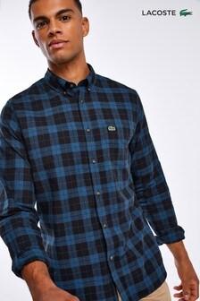 חולצת משבצות סקוטיות שלLacoste®