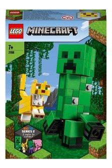 Zestaw BigFig Creeper i Ocelot LEGO® Minecraft 21156