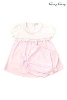 Kissy Kissy Pink Home Dress