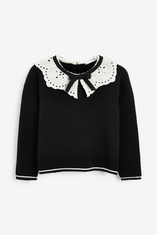 Frill Collar Jumper (3mths-7yrs)