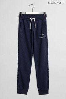 GANT - Lock Up - Gestreepte blauwe broek
