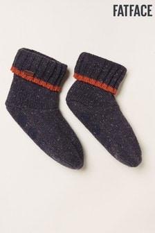 Modré ponožky na spanie FatFace