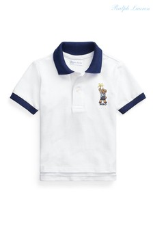 Ralph Lauren White Bear Polo