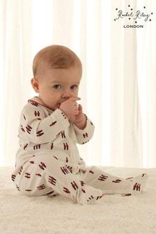 ثوب مناسب لنمو الأطفال أبيض طباعة جنود منRachel Riley