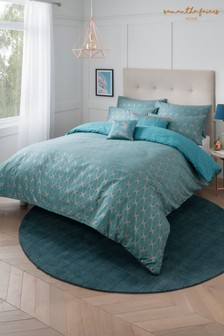 Sam Faiers Caspia Deco Duvet Cover and Pillowcase Set