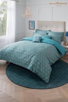 Súprava vzorovanej posteľnej bielizne Sam Faiers Exclusive To Next Caspia Deco
