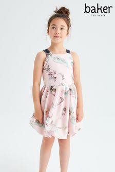 Baker By Ted Baker Pink Floral Dress (220711)   $48 - $55