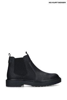 Kurt Geiger Black Parker Boots