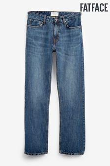 FatFace Denim Boot Cut Mid Wash Jeans