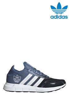 adidas Originals Blue/Black Swift Run Trainers