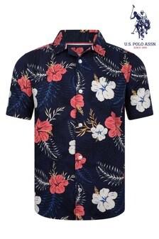 Koszula U.S Polo Assn. w hawajskim stylu