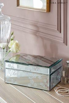Laura Ashley Oriental Blossom Large Jewellery Box