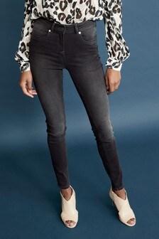 Мягкие джинсы скинни Forever