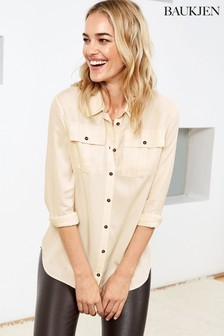 Baukjen Cream Ellen Safari Shirt
