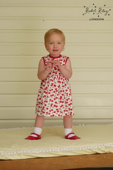 Rachel Riley Red Cherry Baby Dress