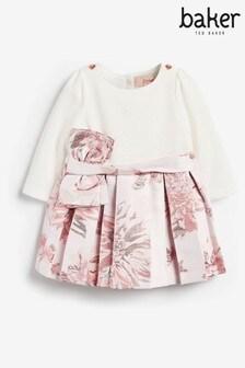 שמלת פפיון ג'קארד של Baker By Ted Baker