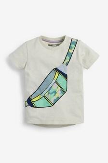 T-shirt met apllicatie (3 mnd-7 jr)