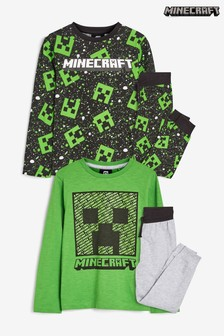 2 Pack Minecraft Pyjamas (3-16yrs)