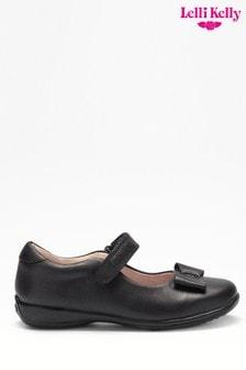 Lelli Kelly Black Bow Shoes