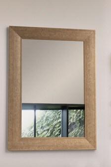 Bronx Wood Effect Mirror